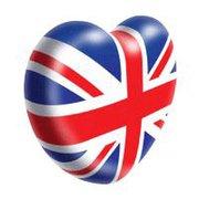 british flag heart information