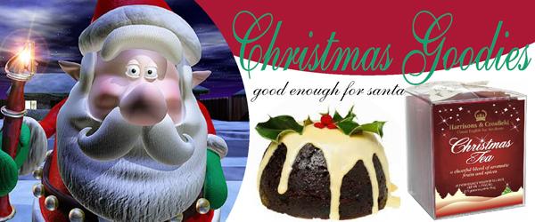 English and Christmas teas